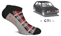 HEEL TRED GTI Low Socks