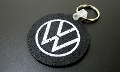 VW Recycled Tire Keychain